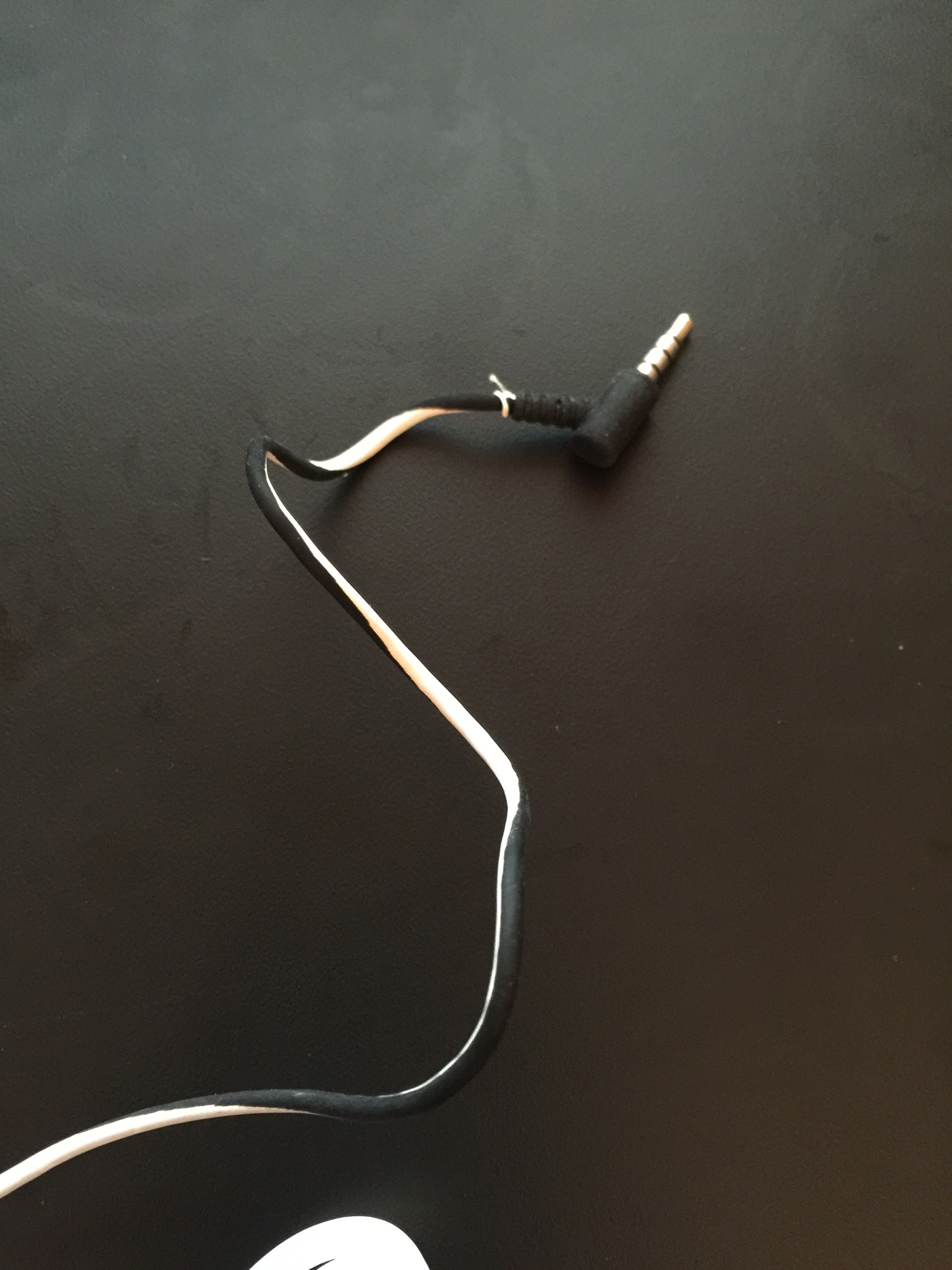 damaged headphone cable